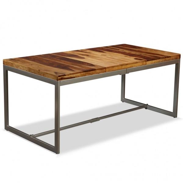 Industrial Style Esstisch Massivholz 180 cm