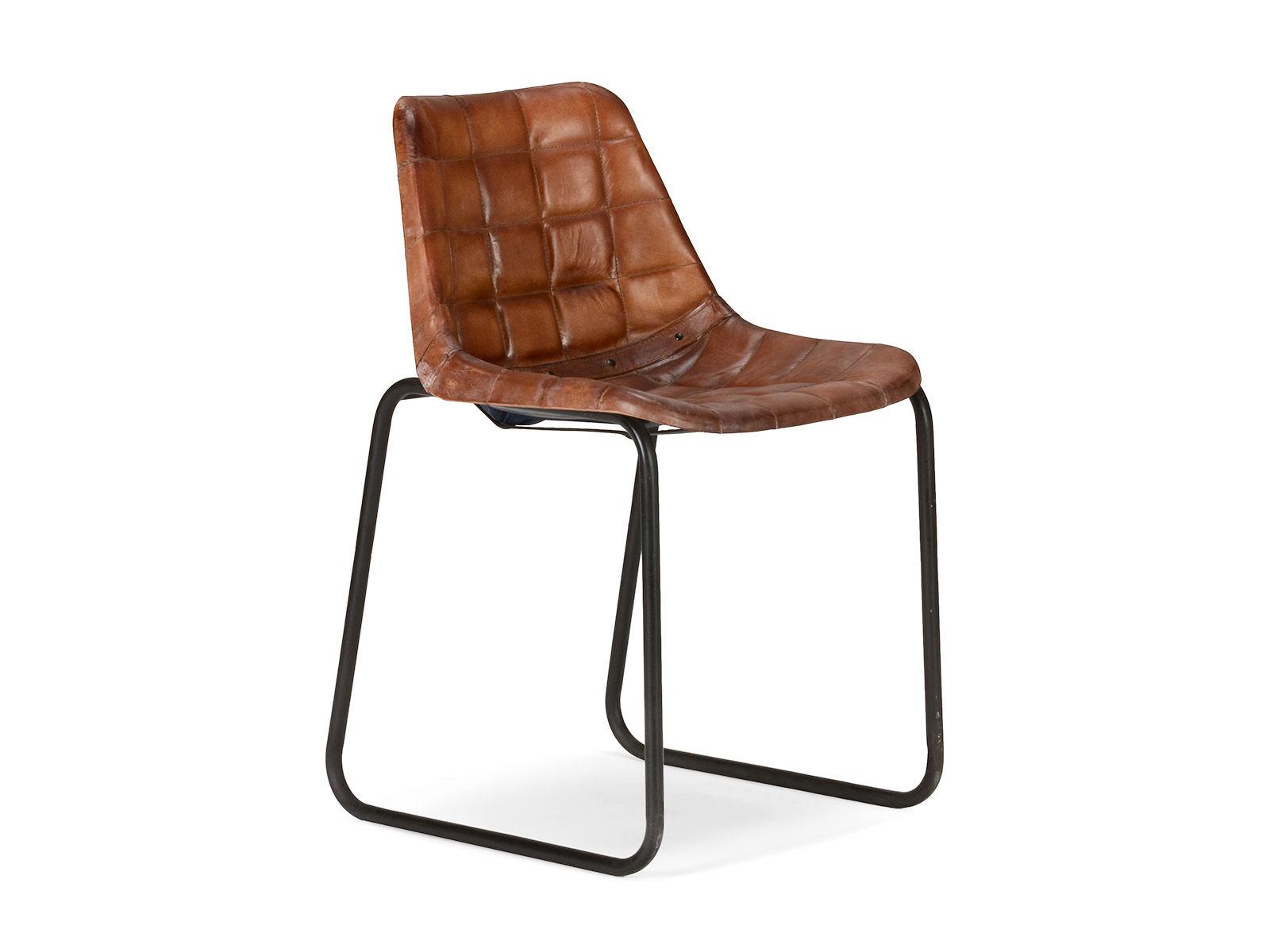 industrial stuhl braun industrie look versandkostenfreie m bel online bestellen. Black Bedroom Furniture Sets. Home Design Ideas