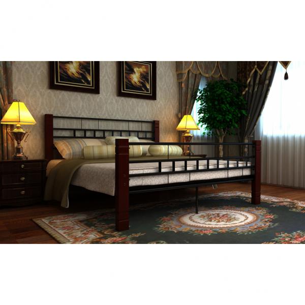 metallbett mit matratze betten schlafzimmer r ume versandkostenfreie. Black Bedroom Furniture Sets. Home Design Ideas