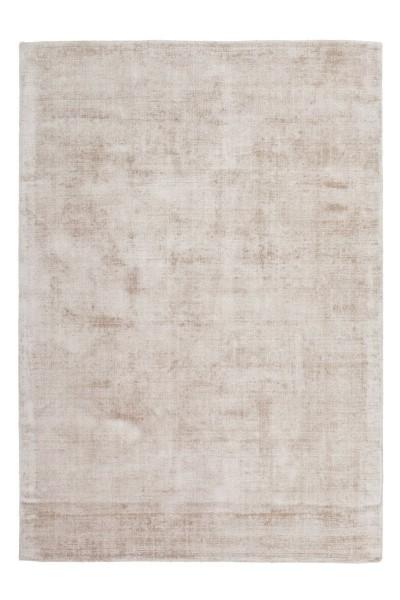 Teppich Viskoseteppich Luxury 110 Elfenbein / Taupe, Modern-Loft