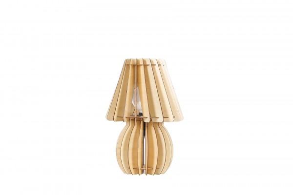 Tischlampe Gino Holz
