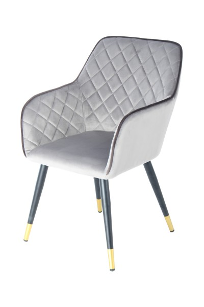 Stuhl Amino 525 Hellgrau / Dunkelgrau