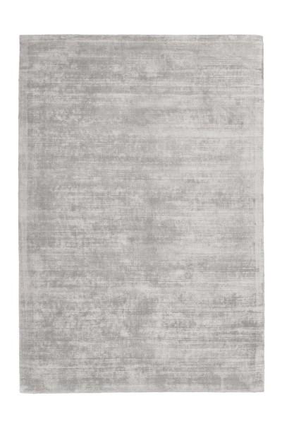 Viskose Teppich grau