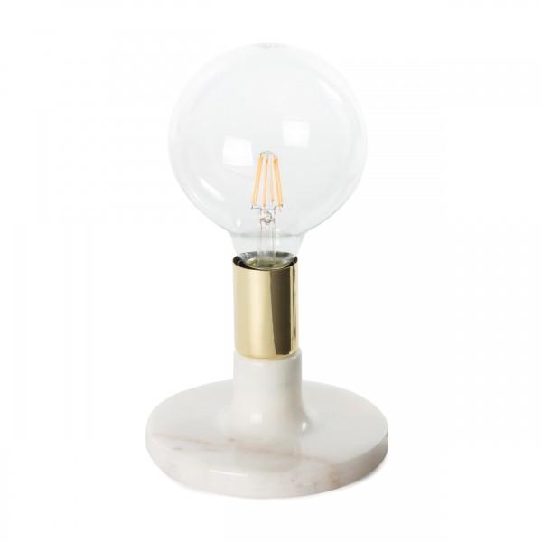 Tischlampe Mrs. Glow Weiß
