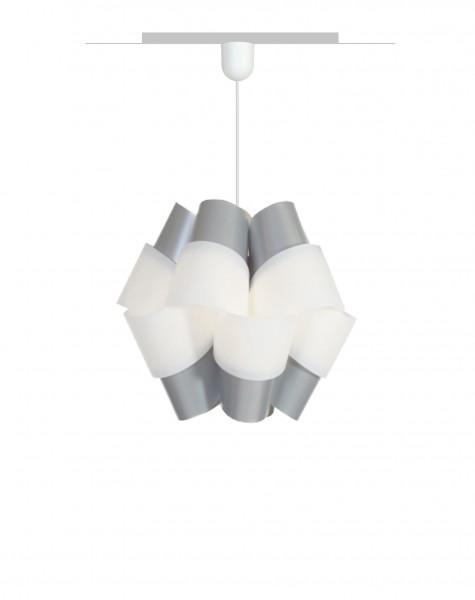 Hängelampe Bouquet 110 Grau / Weiß
