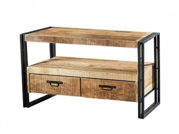 Massivholz Sideboard Industrial Look
