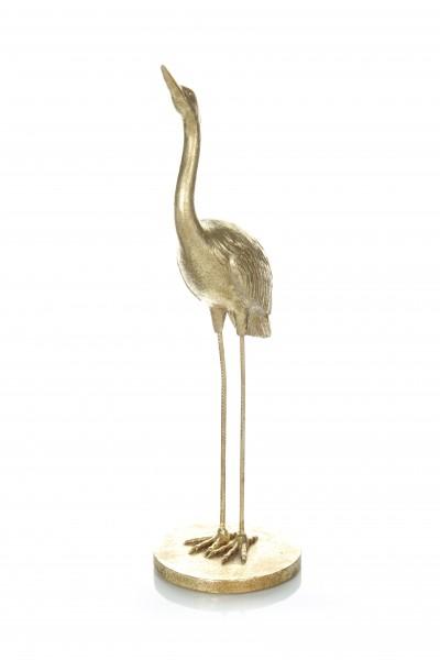 Skulptur Heron 110 Gold