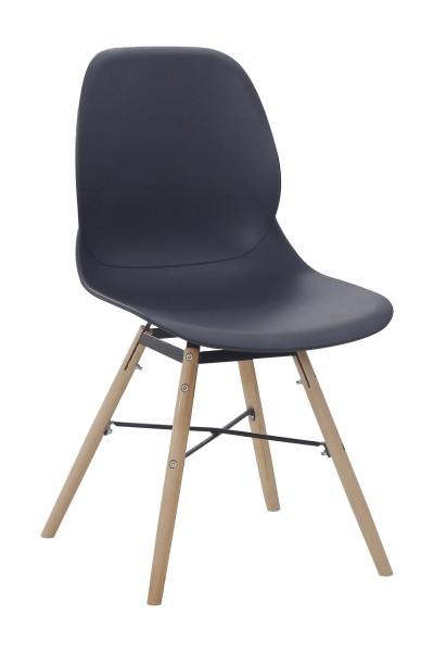 Stuhl Amy 110 4er-Set Schwarz
