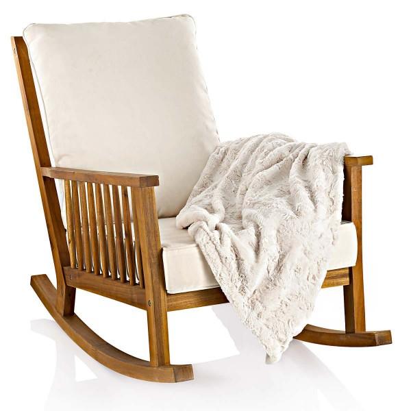 massivholz schaukelstuhl akazie versandkostenfreie m bel online bestellen. Black Bedroom Furniture Sets. Home Design Ideas