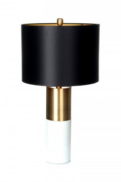 Tischlampe Orbit 110 Schwarz / Bronze / Weiß