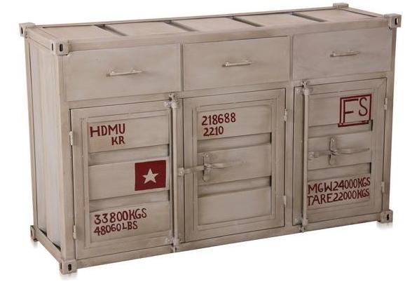 containerm bel kommode eisen versandkostenfreie m bel online bestellen. Black Bedroom Furniture Sets. Home Design Ideas