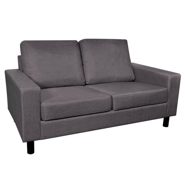 Sofa 2-Sitzer aus Stoff