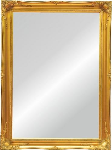 Holzspiegel Barock Gold Optik