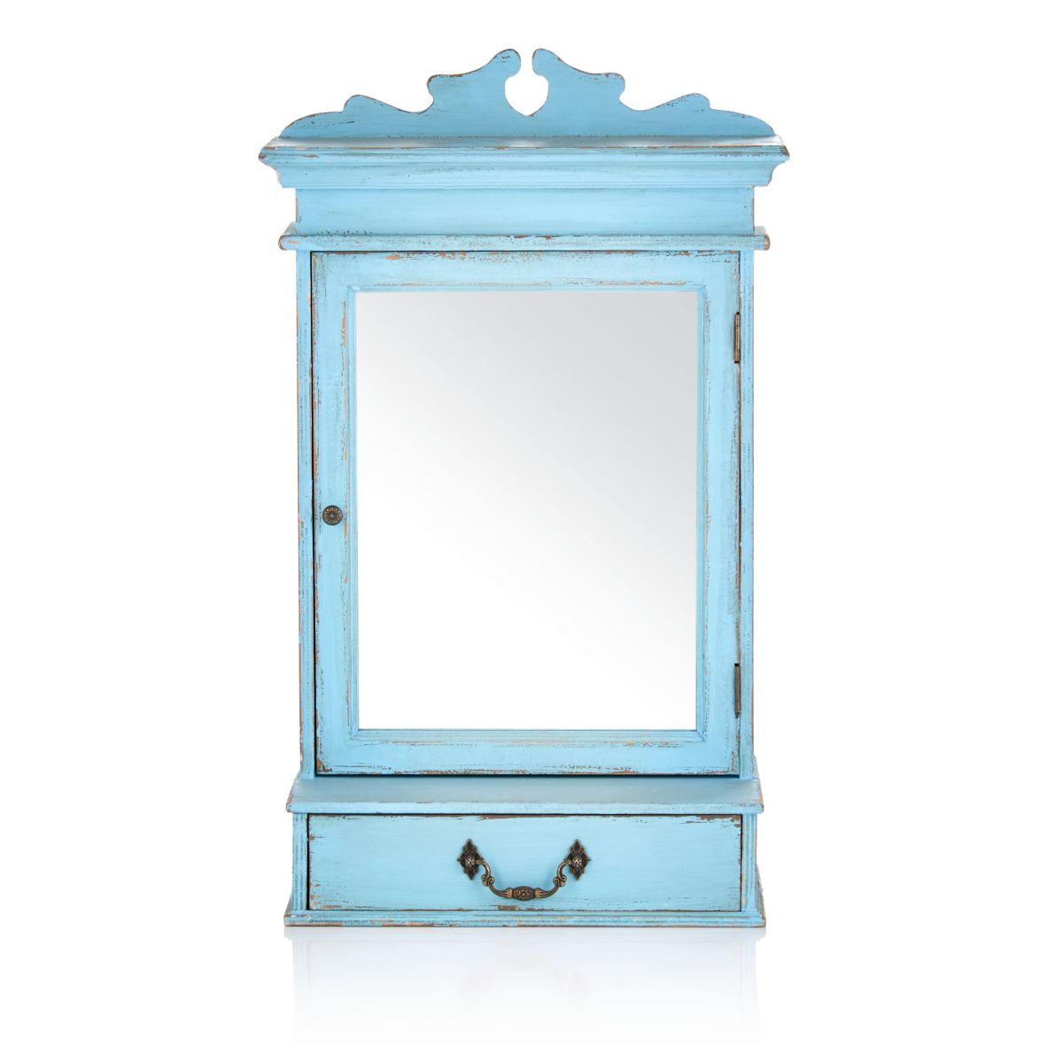 shabby chic spiegelschrank versandkostenfreie m bel online bestellen. Black Bedroom Furniture Sets. Home Design Ideas