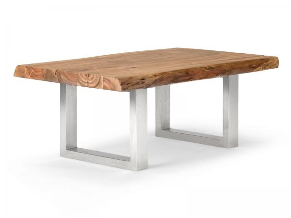 Industrial Möbel Couchtisch Massivholz Akazie von MAssivum