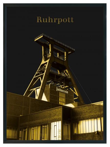 2 Stück DIN A4 - Poster Ruhrpott Zeche Zollverein Ruhrgebiet Souvenir - Blitzversand
