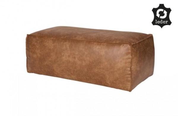 brauner rodeo pouf sitzkissen leder versandkostenfreie m bel online bestellen. Black Bedroom Furniture Sets. Home Design Ideas