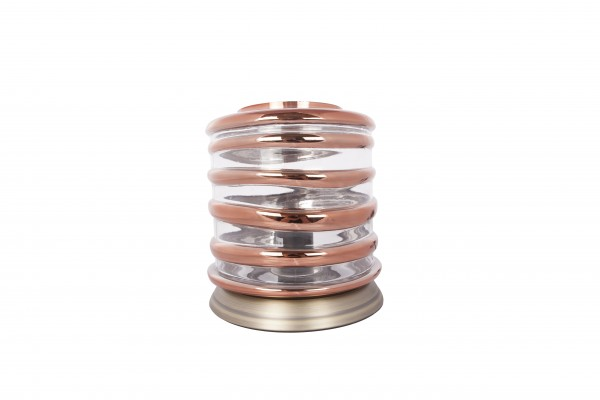 Tischlampe Aladin I 700 Champagner / Kupfer