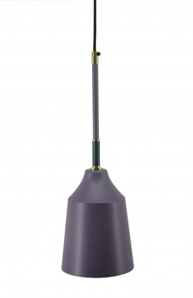 Hängelampe Caja 387 Violett