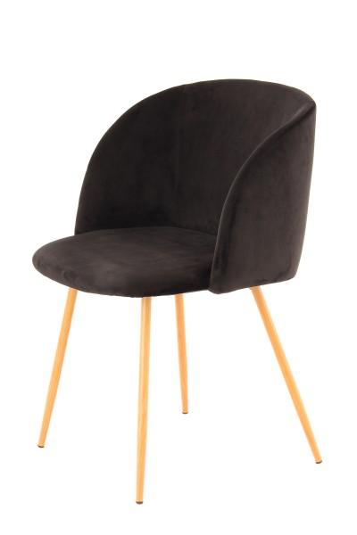 Stuhl Celina 110 2er-Set Schwarz
