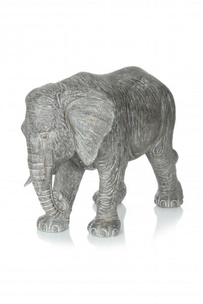 Skulptur Elephant 210 Grau