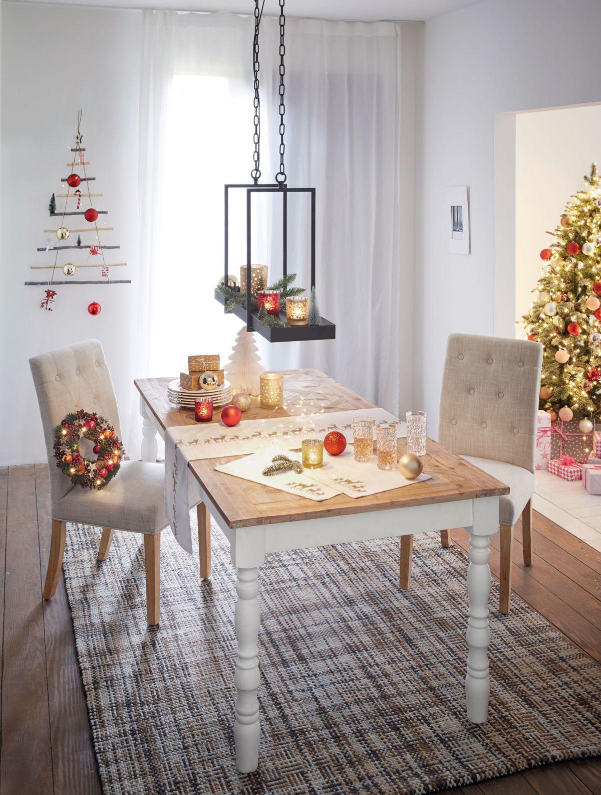 esstisch wei im landhaus look. Black Bedroom Furniture Sets. Home Design Ideas