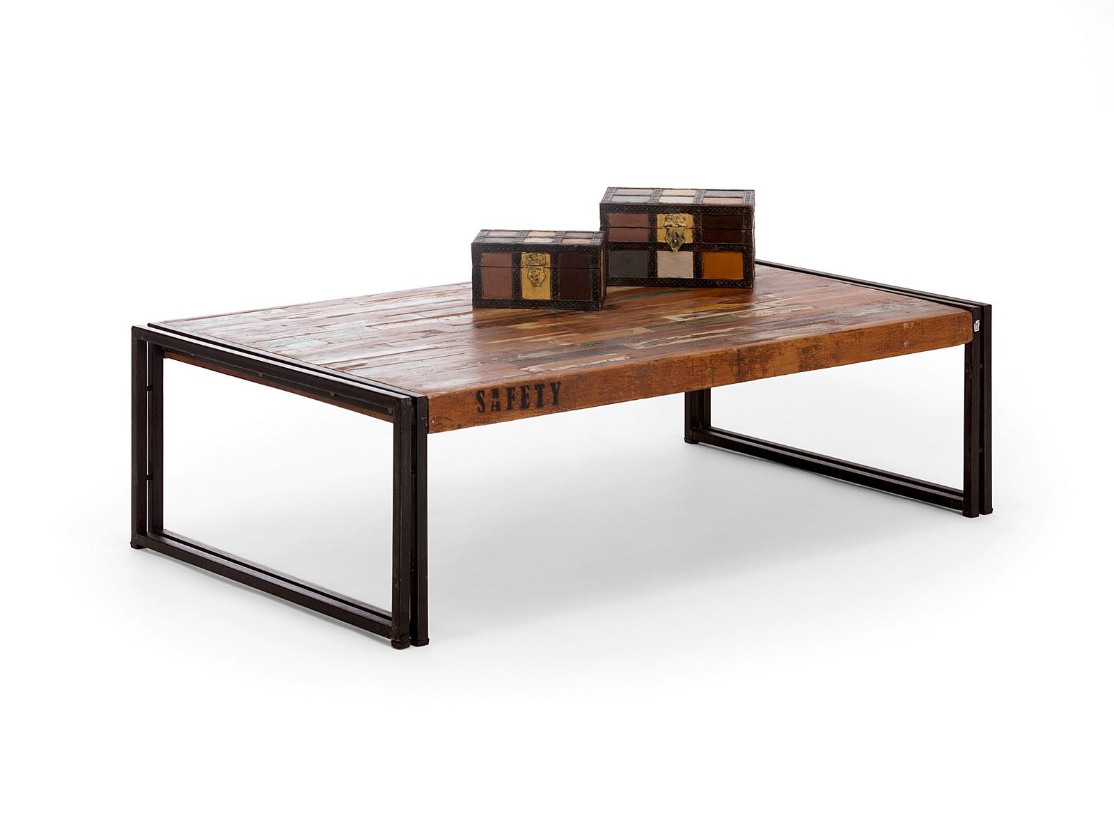 industrial m bel couchtisch mit shabby look akzenten versandkostenfreie m bel. Black Bedroom Furniture Sets. Home Design Ideas