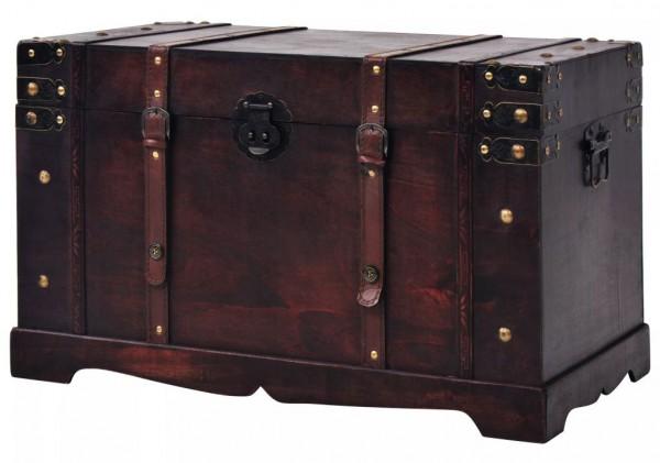 Schatztruhe Holz Vintage Look