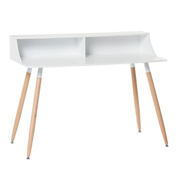 schreibtisch skandinavische m bel look. Black Bedroom Furniture Sets. Home Design Ideas
