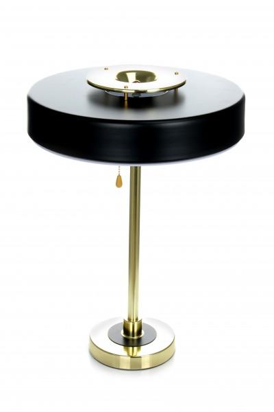Tischlampe Phobos 110 Schwarz / Gold