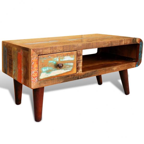 Vintage Couchtisch aus Massivholz - Shabby Chic Look | Tische ...