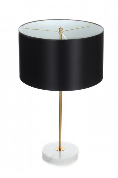 Tischlampe Piona 110 Schwarz / Gold / Weiß