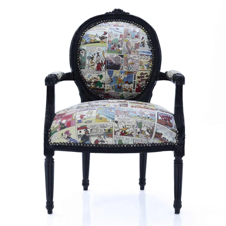 franz sischer louis xvi stil sessel comic m bel wohnzimmer r ume. Black Bedroom Furniture Sets. Home Design Ideas