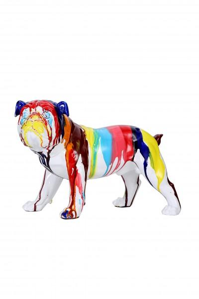 Skulptur Bulldog 21-J Multi