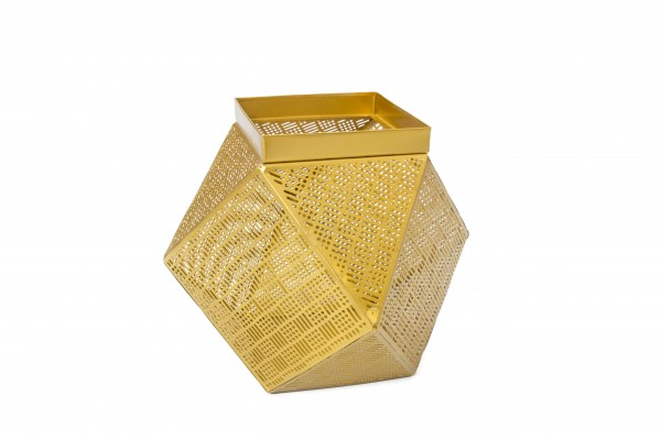 Korb Basket Art Gold II