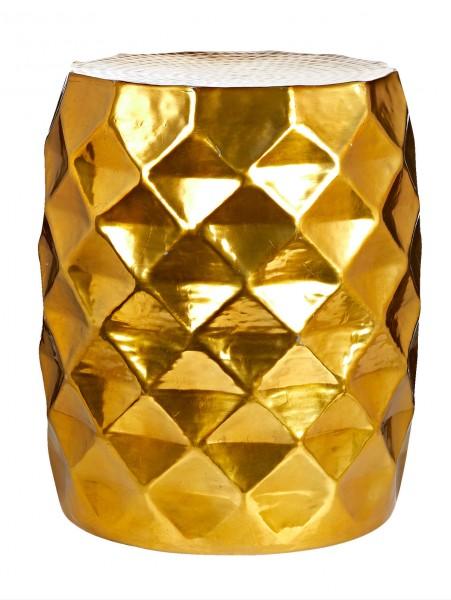 Beistelltisch Gold Look