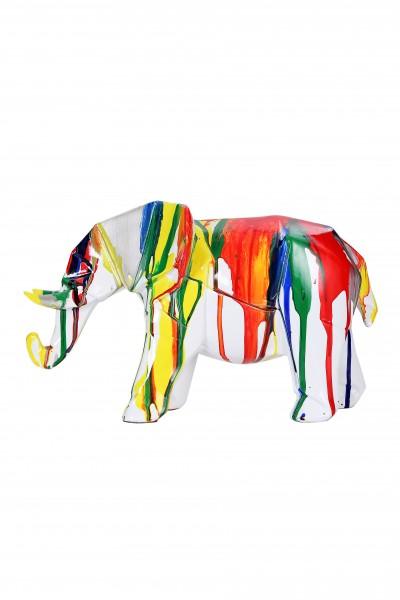 Skulptur Elephant 120 Multi