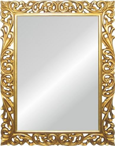 Spiegel mit Verzierung Gold Optik