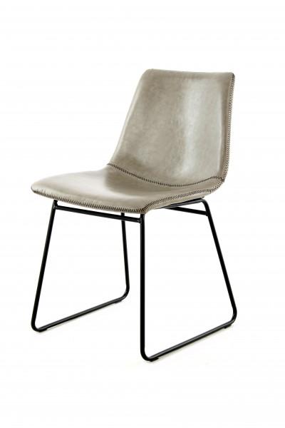Stuhl Caila 110 2er-Set Grau