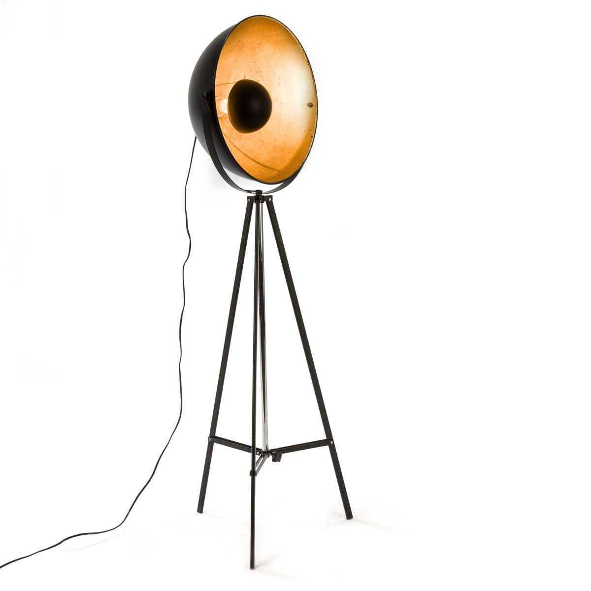 Stehleuchte Golden Eye Industrielook Moebeldeal Versandkostenfreie Möbel Online Bestellen