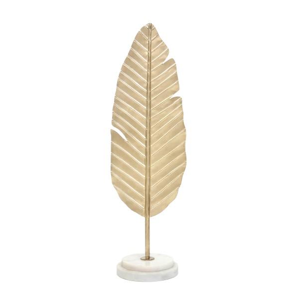 Skulptur Amal 887 Gold / Weiß