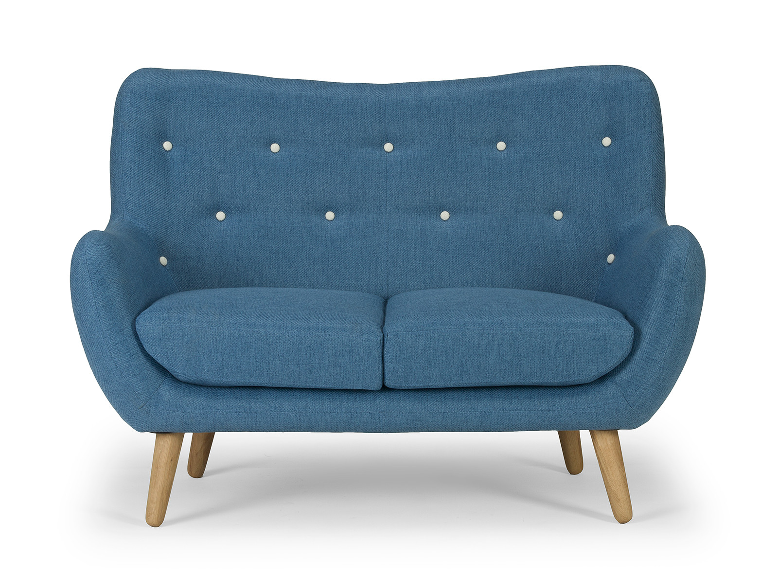 Retro Sofa Vintage Couch 2 Sitzer Im 60er Look Moebeldeal Com