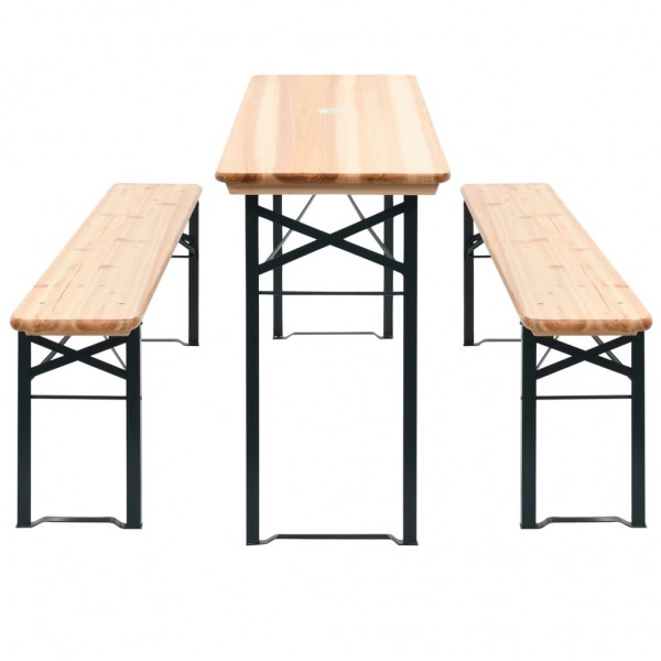 Bierzeltgarnitur - Outdoor Home-Office Set
