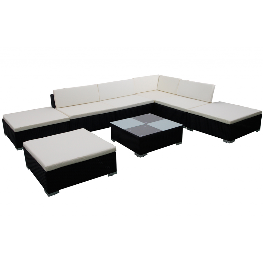 gartenm bel rattan lounge set garnitur garten versandkostenfreie m bel. Black Bedroom Furniture Sets. Home Design Ideas