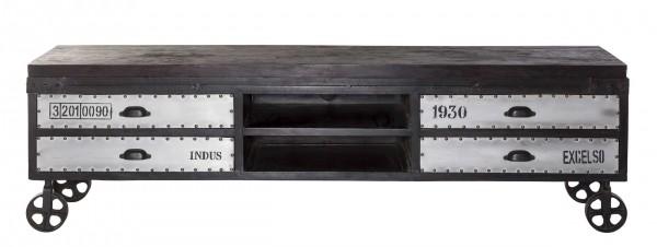Sideboard Industrial Style mit Rollen