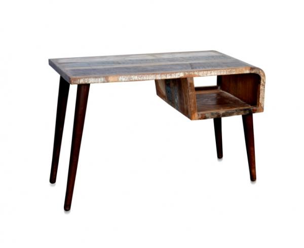 Shabby Chic Look Schreibtisch aus Massivholz