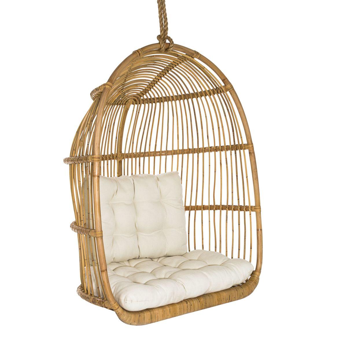 h ngesessel rattankorb natur look versandkostenfreie m bel online bestellen. Black Bedroom Furniture Sets. Home Design Ideas