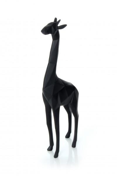 Skulptur Giraffe 110 Schwarz