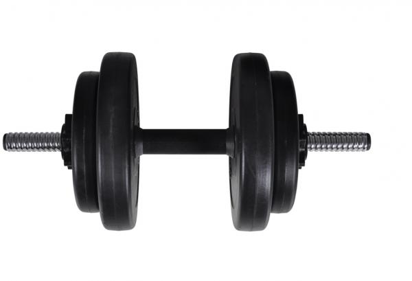 60,5kg Langhantel Kurzhantel Hantelset Gewichtscheiben