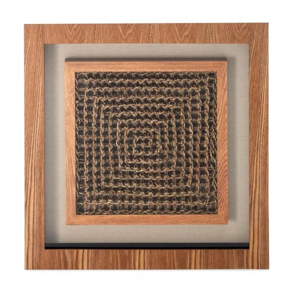 Bilder Holzkunst Carré II 60cm x 60cm